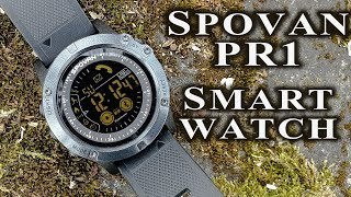 Spovan PR1-2 smart watch full review/manual #181 / Zeblaze Vibe 3 alternative