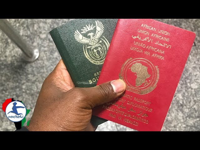 10 Most Powerful Passports in Africa 2017 List