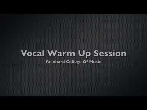 Singing Lessons – Vocal Warm Up Exercises