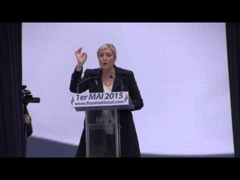 Discours de Marine Le Pen du 1er mai 2015