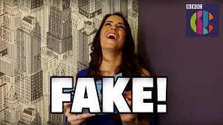 Are These Eurovision Lyrics REAL or FAKE? | Lucie Jones Guesses