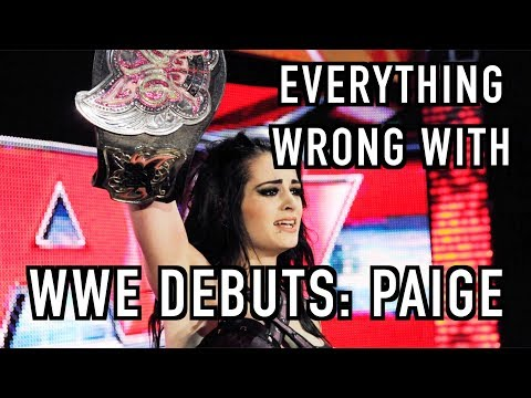 Episode #284: Everything Wrong With WWE Debuts: PAIGE (2014)