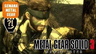 [LIVE] Semana Metal Gear - MGS3 Snake Eater #4: Volgin e The Boss