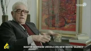 "Martin Scorsese. Why did you decide to direct ""Silence"" now?"