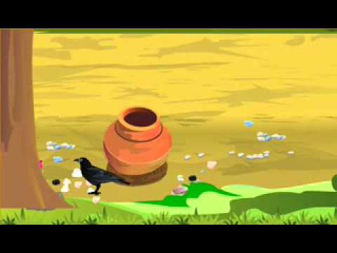 Rhymes The Thirsty Crow-english video