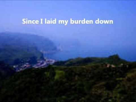 Glory Hallelujah Since I Laid My Burden Down (Instrumental) with lyrics