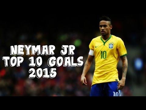 Neymar Jr - Top 10 Goals 2015 | HD