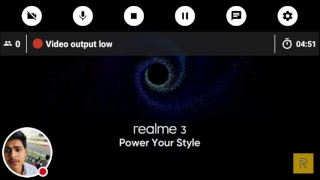 Live lauching of New Phone Realme 3