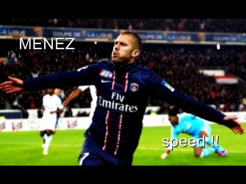 "Jérémy Ménez ""Paris Saint Germain I HD ◆ Speed ◆"