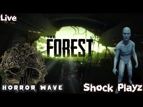 🏕 THE FOREST: ⛺ New Survival Horror | Time To Learn An Survive?? | (Ps4) Gameplay - [Live] Stream