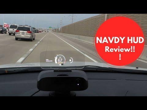 Navdy HUD Review: AR Navigation!