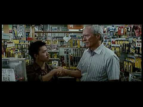 Eastwood's garage, extrait de Gran Torino (2008)