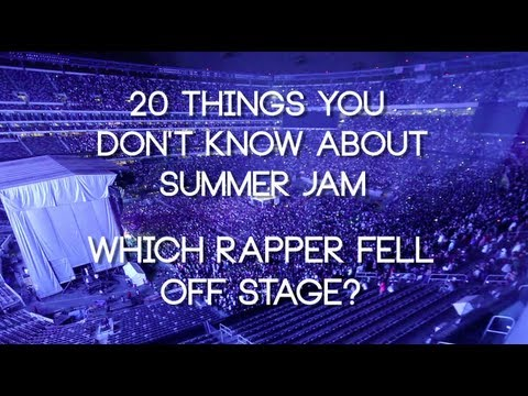 What Rapper Fell off Stage at Summer Jam?