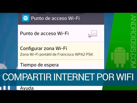 Cómo compartir Internet usando tu dispositivo Android