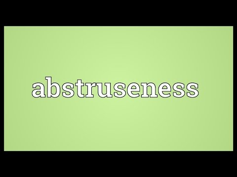 Header of abstruseness