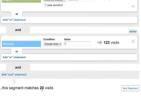 Advanced Segments in Google Analytics