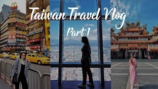 Taiwan Travel Vlog | Part 1 (Taipei + Lantern Festival + Tainan)  | Sonam Lakhani
