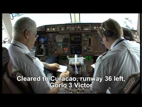 "BOEING 767-300 ""LAST FLIGHT OF CAPT.ROY BERGEN"" (part # 1)"
