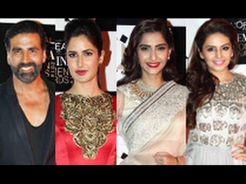 Akshay, Katrina, Sonam, Huma at  L'Oreal Paris Femina Women Awards 2014