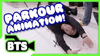 Making Stop-Motion Parkour! (BTS)