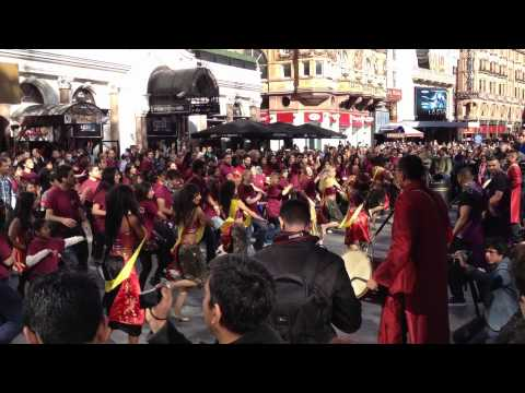 Masala Zone Bollywood Flashmob In Leicester Square video