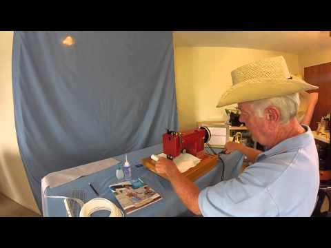 Boat Reupholstery and Seats Repair DIY Chapter 4 Industrial Sewing Machines Part 1
