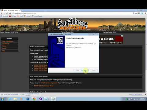 How to download GTA Sanandreas Online Multiplayer (SA-MP)