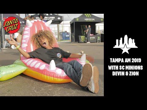 Tampa Am 2019 with SC Minions Devin & Zion!!
