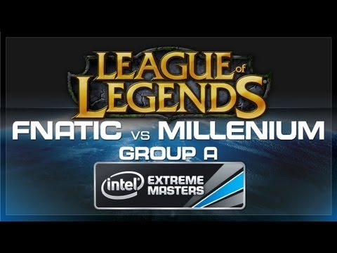 Fnatic VS Millenium (LoL Group A) - IEM World Championship 2013