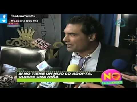 Eduardo Yañez feliz con el matrimonio de su hijo. No lo Cuentes