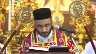 Holy Qurbana Celebrated by Rev. Fr.Sony V. Mani (Full Version)