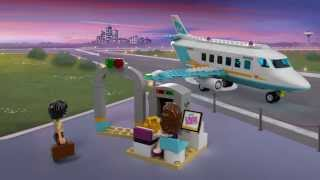Lego Friends | 41100 | Heartlake Private Jet | 3D Review