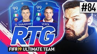 NEW SQUAD BUILDER! - #FIFA19 Road to Glory! #84 Ultimate Team