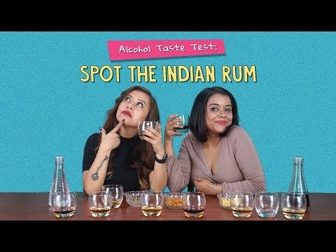 Alcohol Taste Test: Spot The Indian Rum | Ft. Arushi & Akshay |  Ok Tested