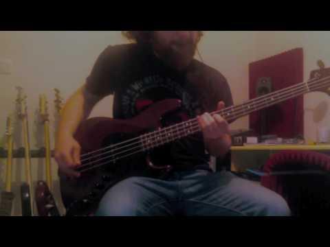 Thrice- Black Honey - Bass cover + Tab