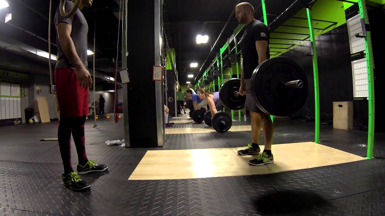Reebok CrossFit 5th Ave NYC - YouTube