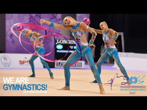 HIGHLIGHTS - 2014 Rhythmic Worlds, Izmir (TUR) - Groups 3+2 - We are Gymnastics!