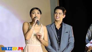 Part 1 This Time Premiere Night James Reid Nadine Lustre JaDine-Before Movie Presenation