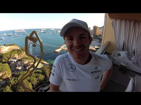 Nico Rosberg: Monaco GP winner video blog an die Fans!