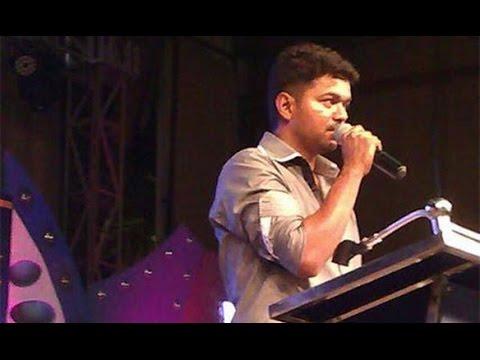 Vijay speech at 'Kaththi' Success Meet in Coimbatore Hindustan College   Anirudh, AR.Murgadoss