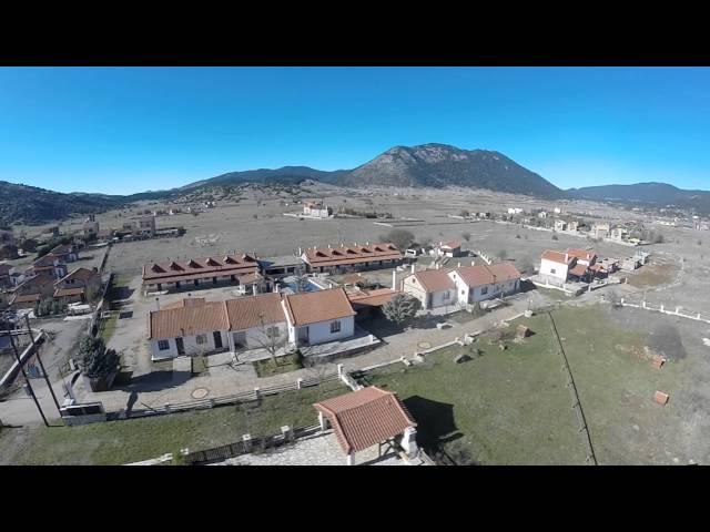 Alexander Resort Arachova Aerial video