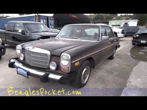 Sad Car Video Classic Euro Cars Going To Scrap Junk Yard