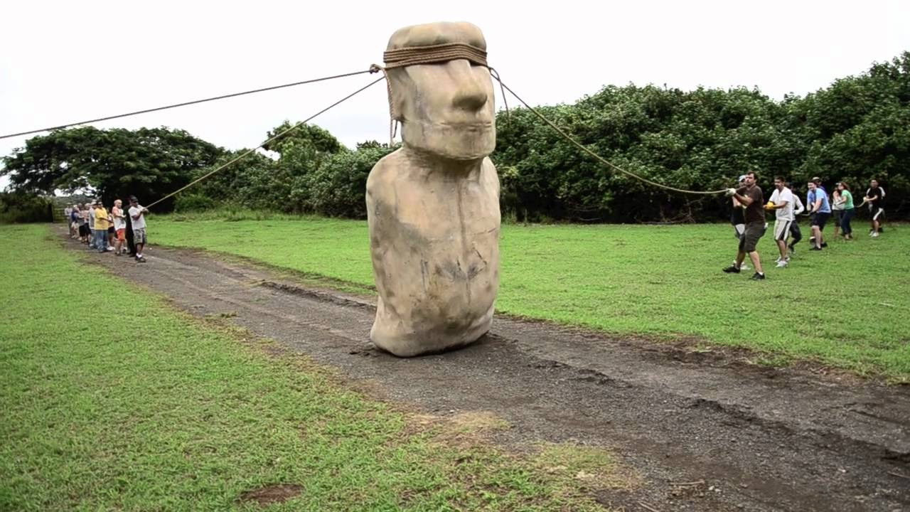 [How They Moved The Statues On Easter Island] Video