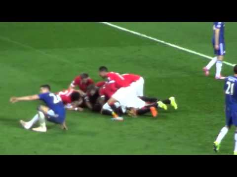 Robin Van Persie the Full Goal Celebration