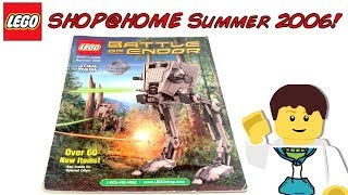 LEGO Shop@Home SUMMER 2006 Catalog! | UCS AT-ST | LEGO RC CAR | VIKINGS | BATMAN | HARRY POTTER