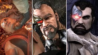 The Cage Family Humiliating Kano 2011-2019 INTROS & CUTSCENES - MORTAL KOMBAT 11/XL/9