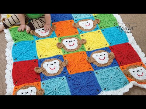 Crocheting Granny Squares On Youtube : How To Crochet Spoked Granny Square - YouTube