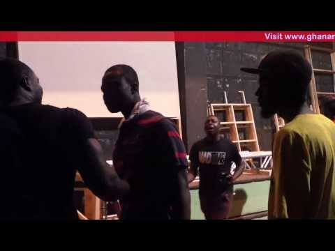 Kwaw Kese - Fights With Stick  Vodafone Icons: Street Edition Back Stage | Ghanamusic Video video