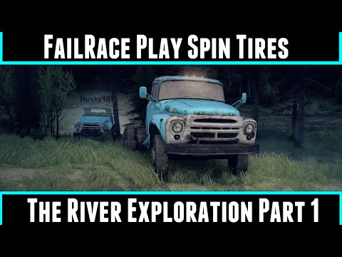 FailRace Play Spin Tires The River Exploration Part 1