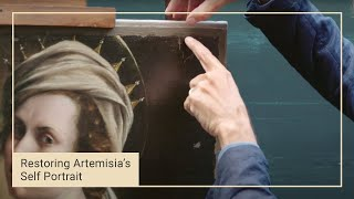 Reconstructing the unusual composition of Artemisia's 'Self Portrait' | National Gallery